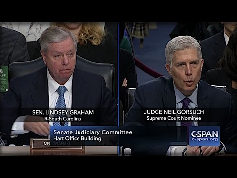 GORSUCH JUST LOOKED LINDSEY GRAHAM IN EYES & SAID 1 THING ON ABORTION THAT'S SHOCKING THE NATION!
