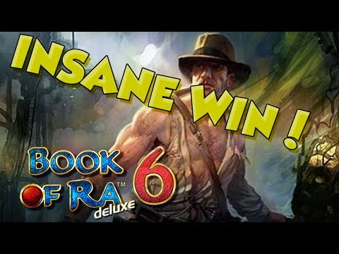 BIG WIN!!!! Book of Ra 6 - Casino - Bonus Round (Casino Slots) - 동영상