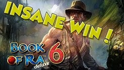 BIG WIN!!!! Book of Ra 6 - Casino - Bonus Round (Casino Slots)