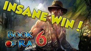 BIG WIN!!!! Book of Ra 6 - Casino - Bonus Round (Casino Slots)