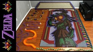 Repeat youtube video The Legend of Zelda Majora's Mask (In 67,507 Dominoes!)