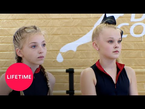 Dance Moms: Brynn and JoJo's First-Ever Duet (Season 6 Flashback) | Lifetime
