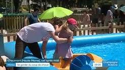 Chaumont plage : les estivales débutent sous un soleil de plomb