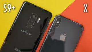 iPhone X 🍎 vs Samsung Galaxy S9+ 💫 | Co wybrać?