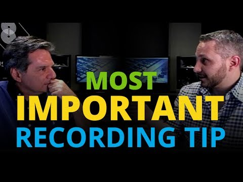 The Single Most Important Aspect of Recording with Doug Fenske (Cre•8 Music Academy)