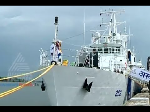 AARUSH, High Speed observation ship, commissioned in Cochin