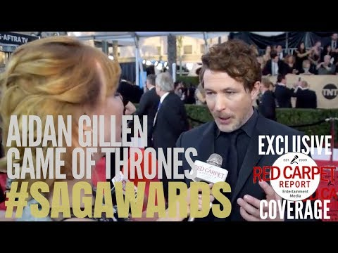 Aidan Gillen, Game of Thrones ed at 24th Screen Actors Guild Awards Red Carpet SAGAwards