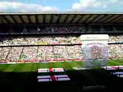 National Anthem at Twickenham Stadium