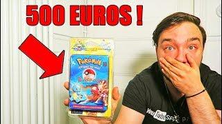 UN ABONNÉ M'A OFFERT UN CADEAU POKEMON A 500 EUROS & OUVERTURE BOOSTER WIZARD 1998 !