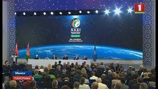 Уже 4-ый день в Минске проходит Международный космический конгресс. Панорама