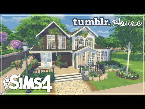 The Sims 4: House Build | ♥ Tumblr House ♥