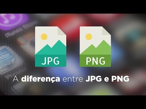 A diferença entre JPG e PNG