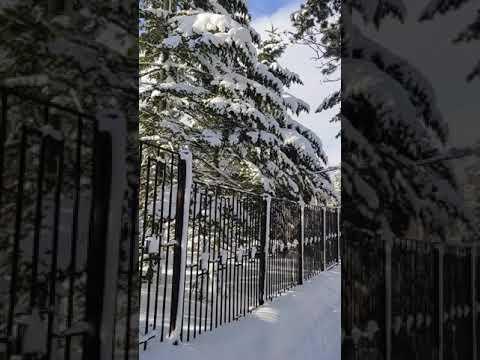 Радости зимы. Много снега, Южно-Сахалинск.