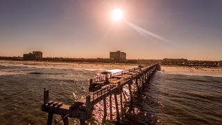 Jacksonville Beach Pier With Phantom 4 Drone