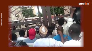 Shi'ites Storm National Mosque To Protest Continuous Detention Of El Zakzaky