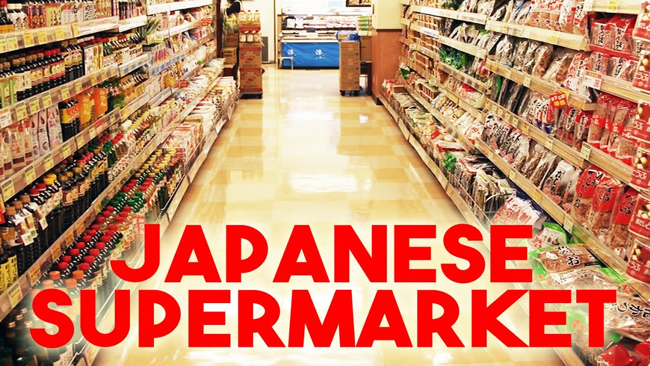Shopping At A Japanese Supermarket In Tokyo Youtube