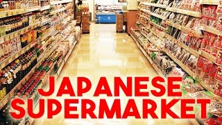 Shopping at a Japanese Supermarket in Tokyo