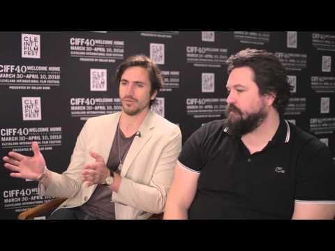 CIFF40 Meet the Filmmakers :: Director Michael Curtis Johnson and Actor Tomas Pais from HUNKY DORY
