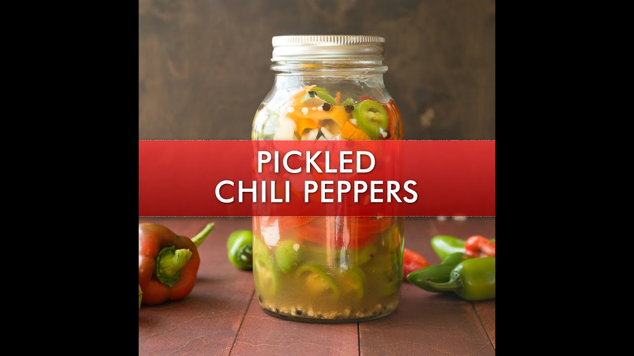Refrigerated Pickled Peppers
