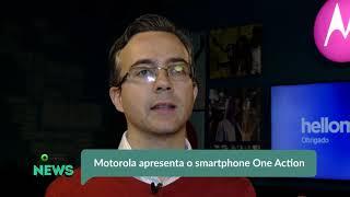 Motorola apresenta o smartphone One Action