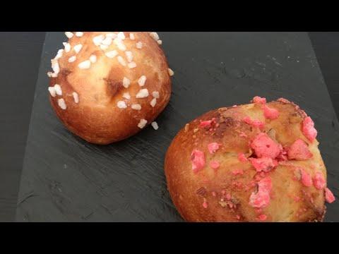 recette-de-la-pâte-à-brioche-individuelle-aux-perles-de-sucre-et-aux-pralines-roses