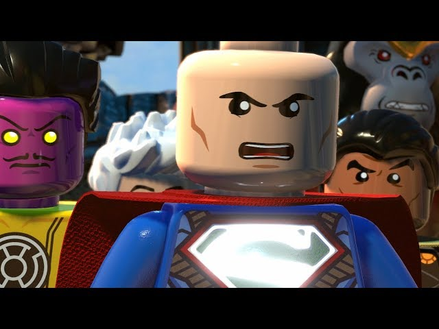 LEGO DC Super Villains Walkthrough Part 10 - Gridlocked