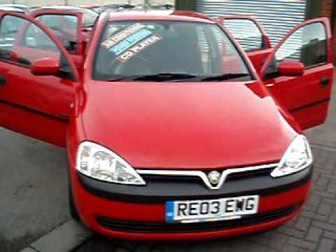 wirral small cars 2003 vauxhall corsa 1 0 life youtube. Black Bedroom Furniture Sets. Home Design Ideas