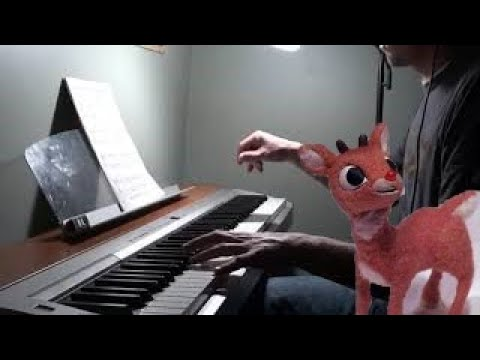 Rudolph, The Red-nosed Reindeer - Piano Solo