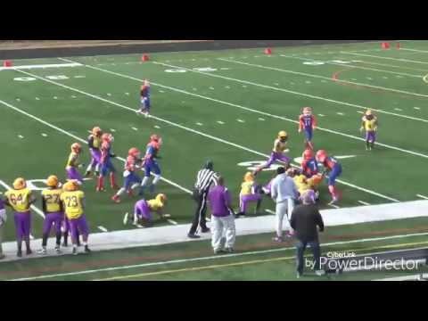 David Charles II 2016 Football Highlights-AYF-12U Springfield Tigers/FBU Connecticut