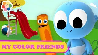 Learn Colors with My Color Friends | Color Crew & Goo Goo | Educational Videos | BabyFirst TV