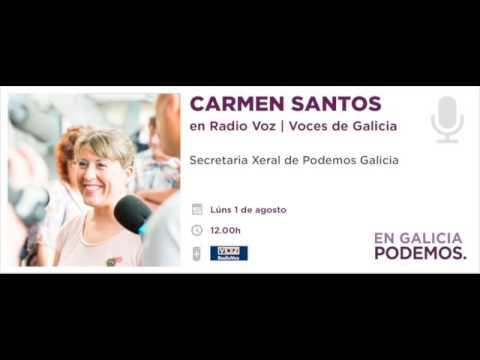 Carmen Santos | Radio Voz | Voces de Galicia