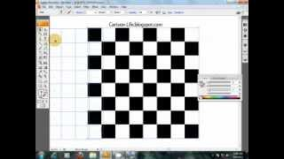 illustrator chess board tutorial