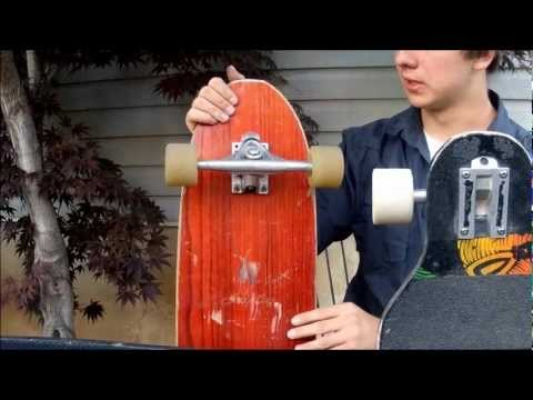 How to Slide on a Longboard Part 1 (Pendulum)