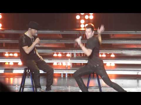 NKOTB Vegas After Dark Jordan Knight Sexy Time