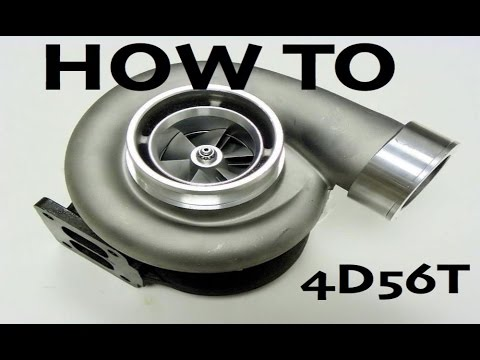 HOW TO : Increase the boost on your 4D56T Engine