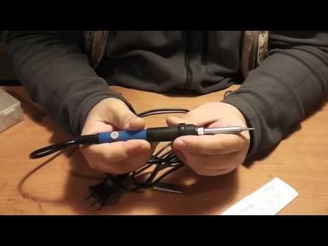 Китайский паяльник F981PC Pro 60W 220V с регулятором температуры - Обзор