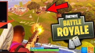 BEAMING EVERYONE IN SOLOS!! (Fortnite Battle RoyaleGameplay)