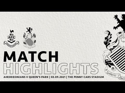Airdrieonians Queens Park Goals And Highlights