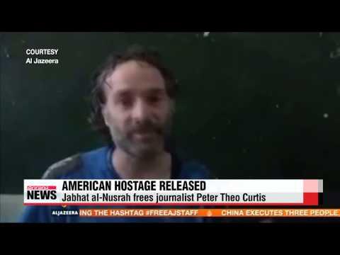 U.S. journalist released by terrorists in Syria   미국 인질 시리아서 석방