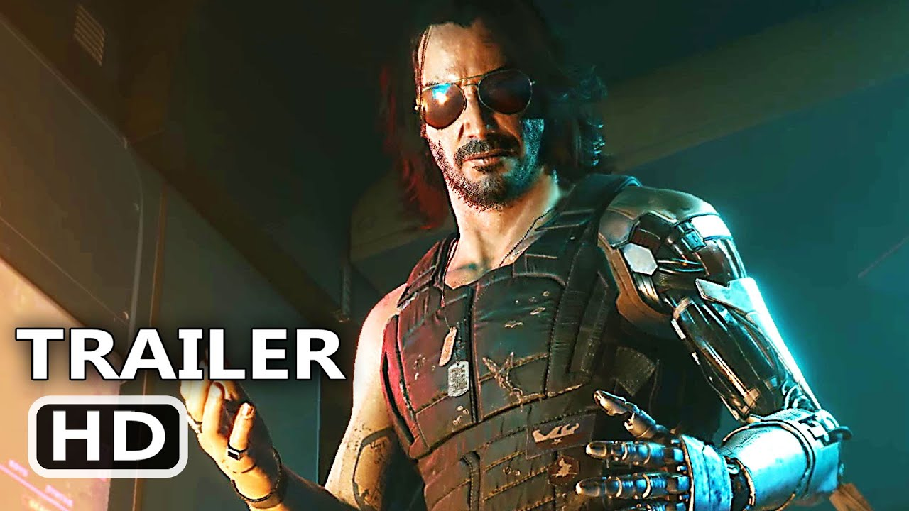 CYBERPUNK 2077 4K Trailer (2020) Keanu Reeves Game HD