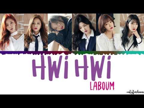 LABOUM 라붐 - Hwi Hwi 휘휘  Color CodedHanRomEng