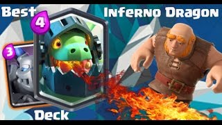 clash royale best inferno dragon deck