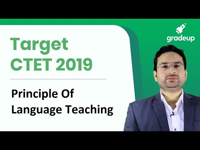 CTET 2019 | Principle Of Language Teaching | English By Amit Shishodia