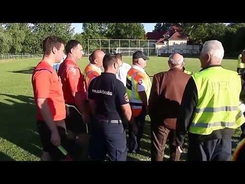 Szentes - Csongrád (1:1) mennyei megyei meccs utáni pillanatok