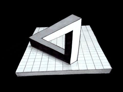 How to Draw The Impossible Triangle in 3D