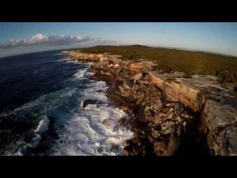 Cape Solander (Sydney's Botany Bay National Park - 9th August 2015) 4K UltraHD