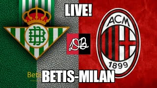 Download Video [LIVE] BETIS SIVIGLIA - AC MILAN / UEFA EUROPA LEAGUE 2018/19 MP3 3GP MP4