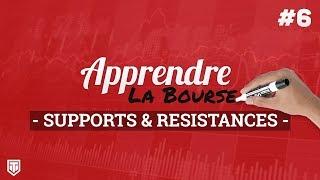 Supports et Résistances - Apprendre la Bourse