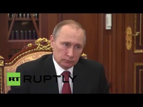 Russia: Gazprom CEO briefs Putin on major new planned pipeline to S. Europe