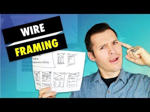 How to Wireframe a Website or App   Web Design & App Design Tutorial